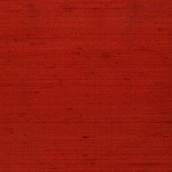 Photo of the fabric Luxury Tomato-189 swatch by James Dunlop. Use for Drapery. Style of Plain
