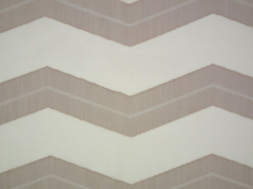 Photo of the fabric Spinnaker * Sand 821 swatch by Mokum. Use for Drapery Sheer. Style of Pattern, Sheer, Stripe