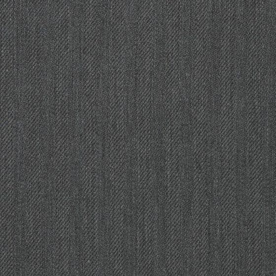 Photo of the fabric Herringbone Charcoal swatch by Mokum. Use for Upholstery Heavy Duty, Accessory. Style of Plain