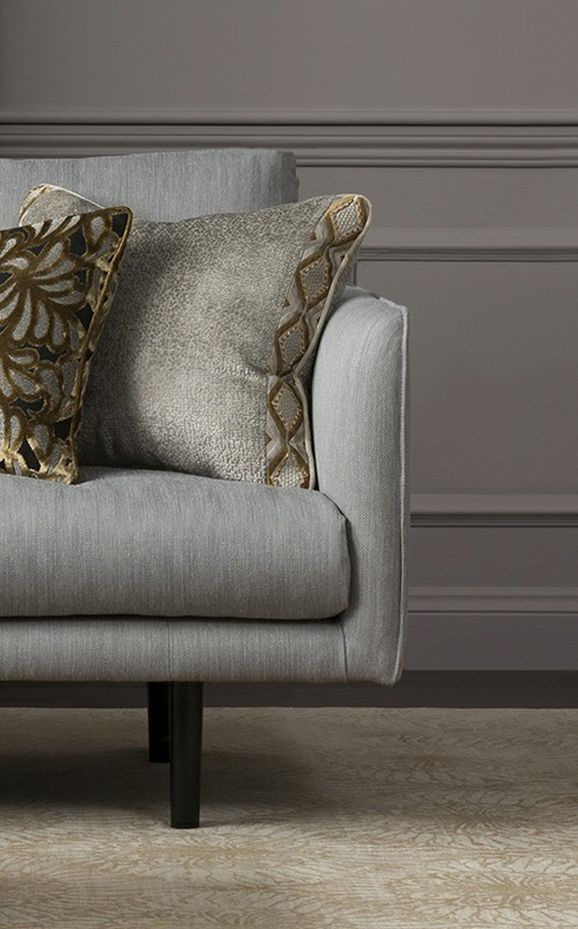 Photo of the fabric Yin Ribbon Gold in situ by Mokum. Use for Trim. Style of Decorative, Pattern