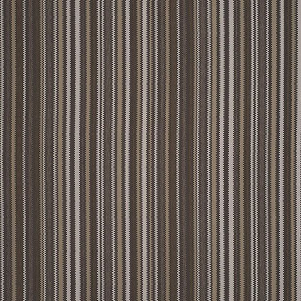 Photo of the fabric Neptun Coffee swatch by James Dunlop. Use for Upholstery Heavy Duty, Accessory. Style of Childrens, Geometric, Pattern, Stripe