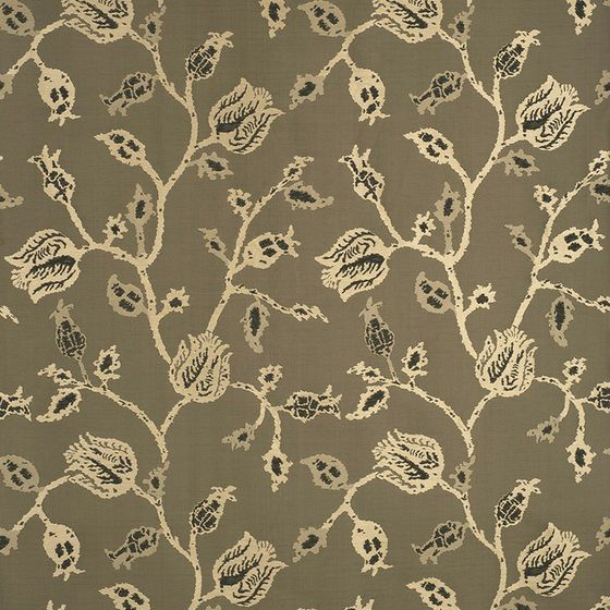Photo of the fabric Tulip Tetouan Lacquer swatch by Mokum. Use for Curtains, Accessory. Style of Decorative, Pattern