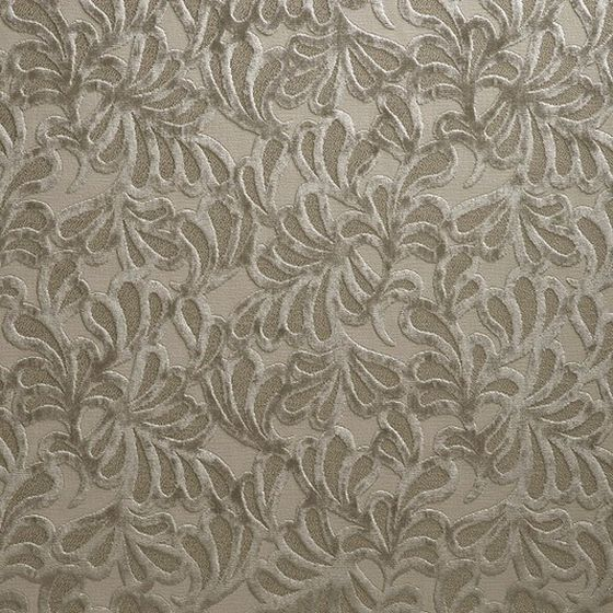 Photo of the fabric Maple Leaf Quartz swatch by Mokum. Use for Upholstery Heavy Duty, Accessory. Style of Pattern, Velvet
