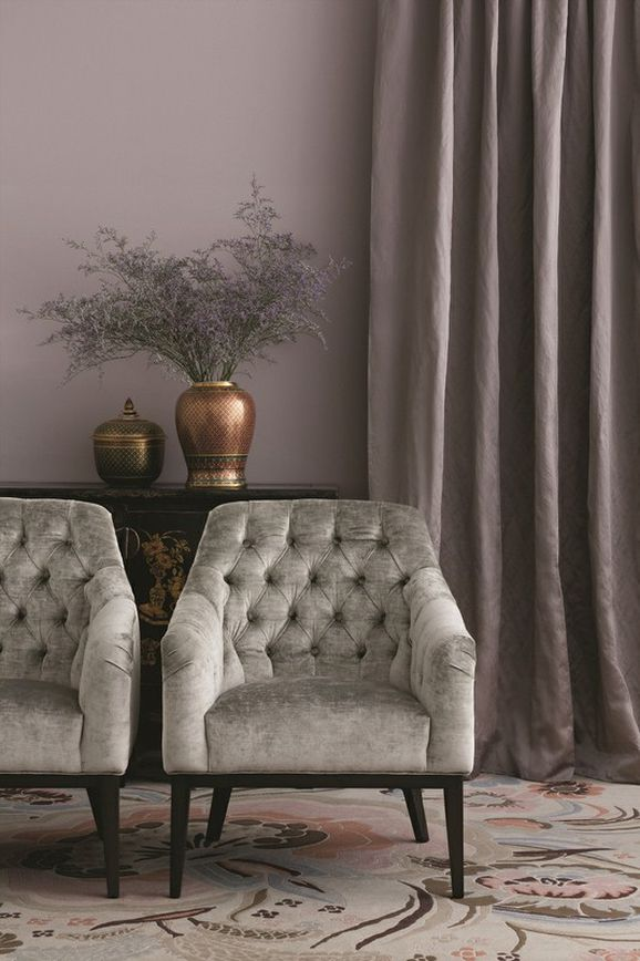 Photo of the fabric Vintage Alabaster in situ by Mokum. Use for Upholstery Heavy Duty, Accessory. Style of Plain, Velvet