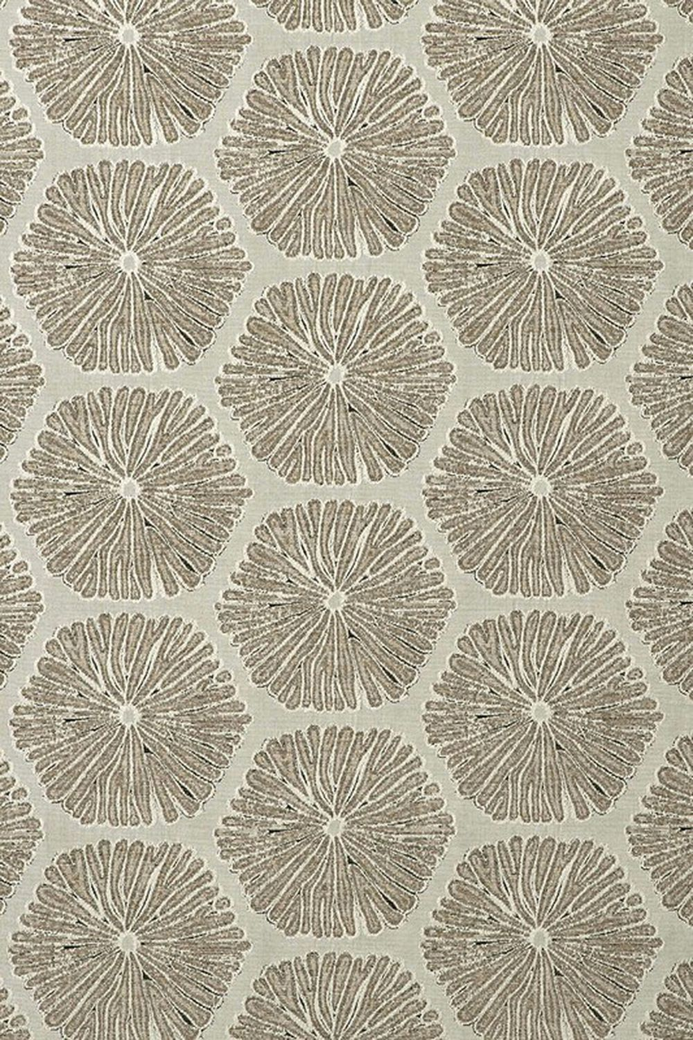 Photo of the fabric Sea Urchin Linen swatch by Mokum. Use for Upholstery Medium Duty, Accessory. Style of Abstract, Pattern