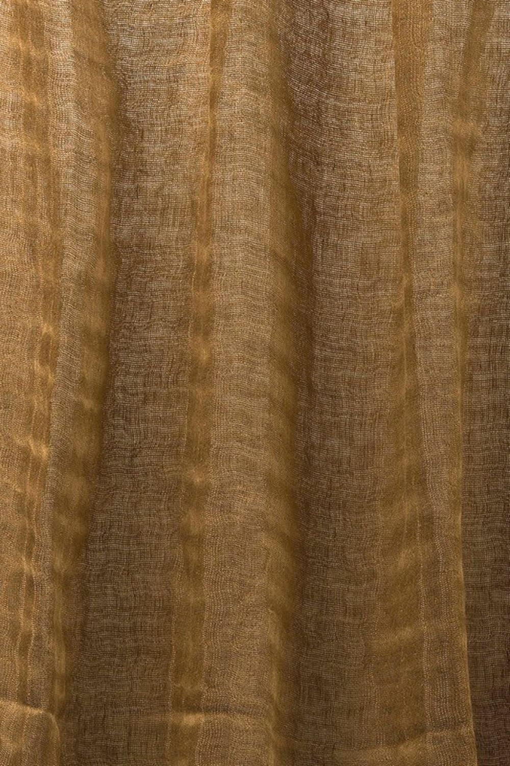 Photo of the fabric Luna * Amber swatch by Mokum. Use for Drapery. Style of Plain, Texture