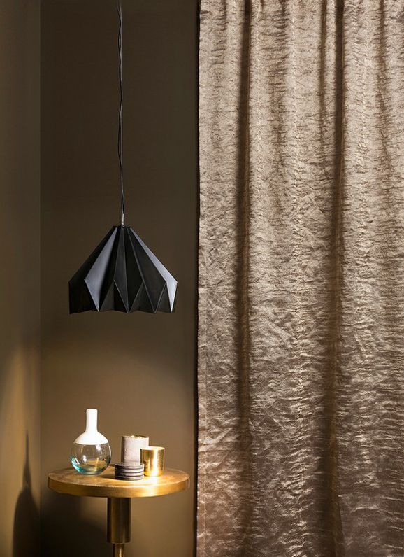 Photo of the fabric Elemental * Diamond in situ by Mokum. Use for Drapery Sheer. Style of Plain, Sheer, Texture
