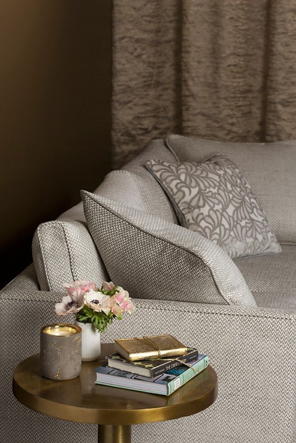 Photo of the fabric Lusso Macaroon in situ by Mokum. Use for Upholstery Heavy Duty, Accessory. Style of Plain, Texture