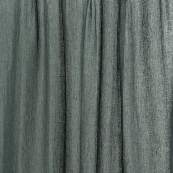 Photo of the fabric Laconia Air Atlantic swatch by James Dunlop. Use for Sheer Curtains. Style of Plain, Sheer