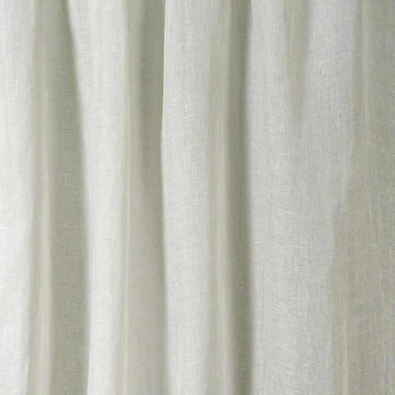 Photo of the fabric Laconia Air Swan swatch by James Dunlop. Use for Sheer Curtains. Style of Plain, Sheer
