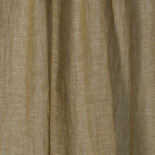 Photo of the fabric Lino * Avocado swatch by Mokum. Use for Drapery Sheer. Style of Plain, Sheer, Texture