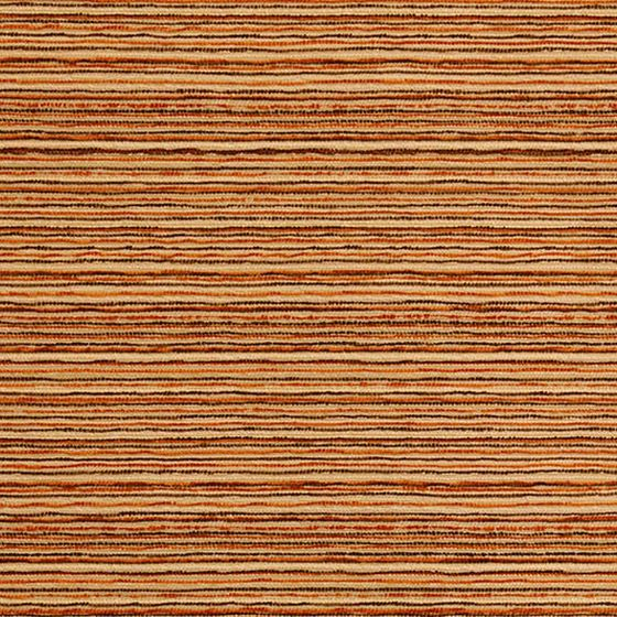 Photo of the fabric Alani Burnt swatch by Pegasus. Use for Upholstery Heavy Duty, Accessory. Style of Pattern, Stripe