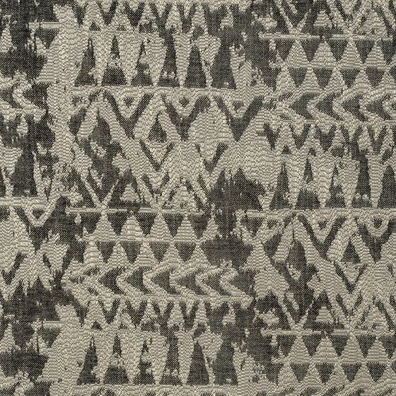 Photo of the fabric Cappadocia Basalt swatch by Mokum. Use for Upholstery Heavy Duty, Accessory. Style of Abstract, Pattern, Tribal
