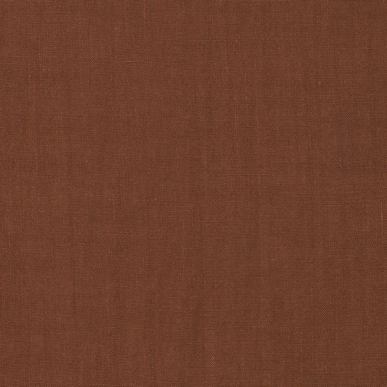 Photo of the fabric Eternal Burnt Orange swatch by Mokum. Use for Curtains, Upholstery Medium Duty, Accessory, Top of Bed. Style of Plain