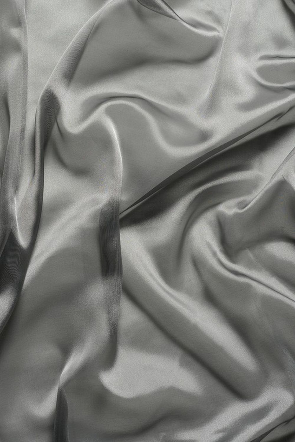 Photo of the fabric Liquidity * Platinum swatch by Mokum. Use for Drapery. Style of Plain