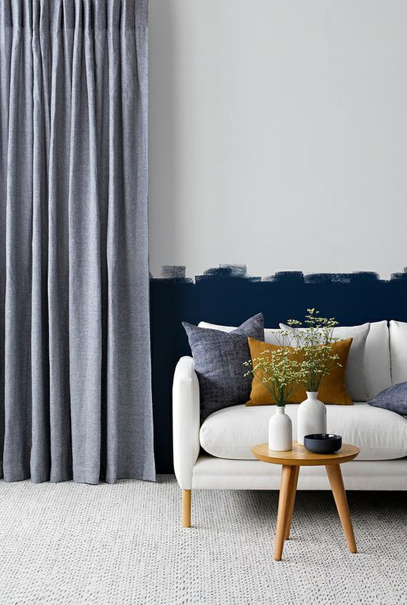 Photo of the fabric Kyoto Grain in situ by James Dunlop. Use for Curtains. Style of Plain