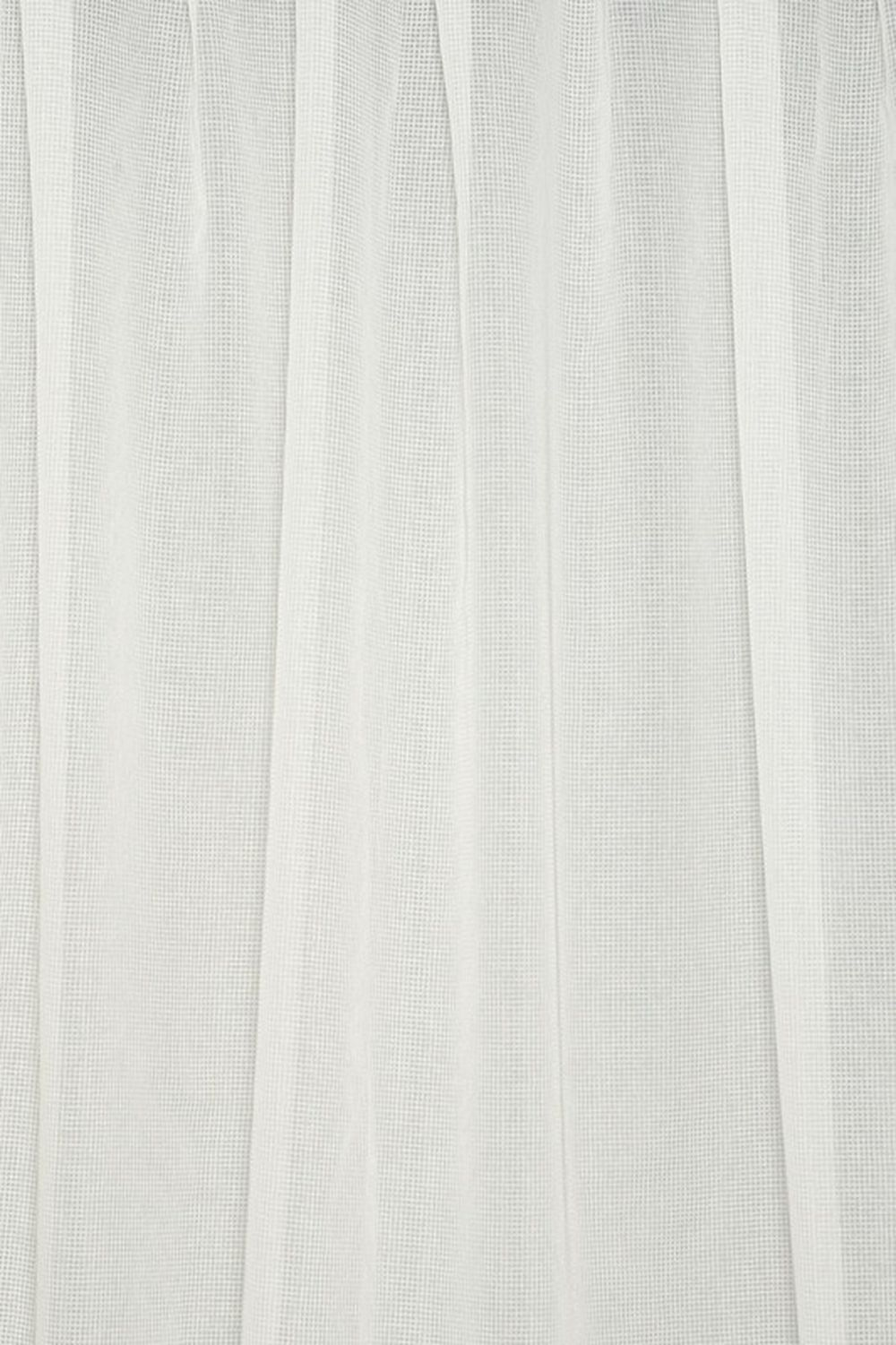 Photo of the fabric Ascend * Blanc swatch by Pegasus. Use for Drapery Sheer. Style of Plain, Sheer