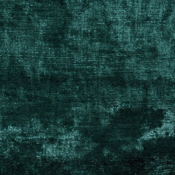 Photo of the fabric Bespoke Aquamarine swatch by Catherine Martin by Mokum. Use for Curtains, Upholstery Heavy Duty, Accessory. Style of Plain, Velvet