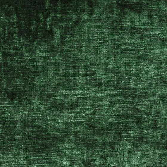 Photo of the fabric Bespoke Emerald swatch by Catherine Martin by Mokum. Use for Curtains, Upholstery Heavy Duty, Accessory. Style of Plain, Velvet