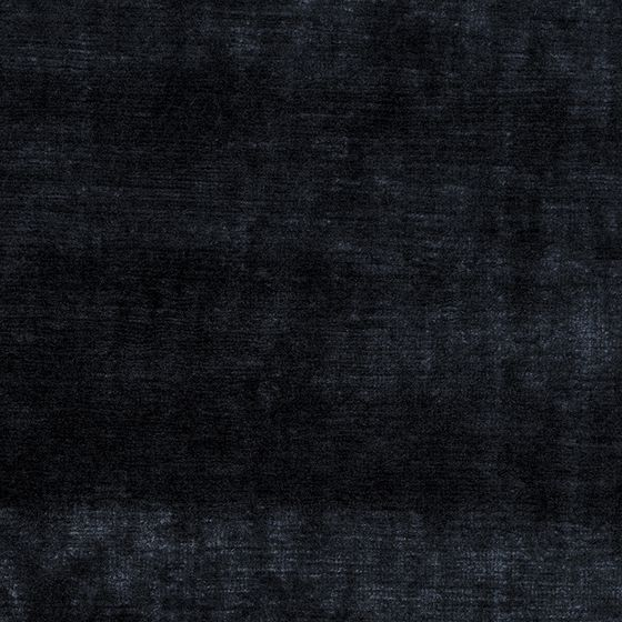 Photo of the fabric Bespoke Midnight swatch by Catherine Martin by Mokum. Use for Curtains, Upholstery Heavy Duty, Accessory. Style of Plain, Velvet