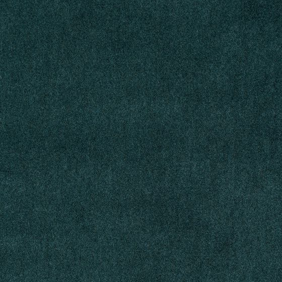 Photo of the fabric Alpaca Velvet Deep Teal swatch by Mokum. Use for Upholstery Heavy Duty, Accessory. Style of Plain, Velvet