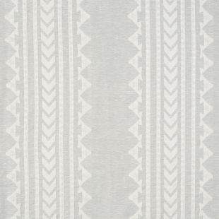 Photo of the fabric Aleuj Seashore swatch by Catherine Martin by Mokum. Use for Curtains. Style of Decorative, Geometric, Pattern, Stripe