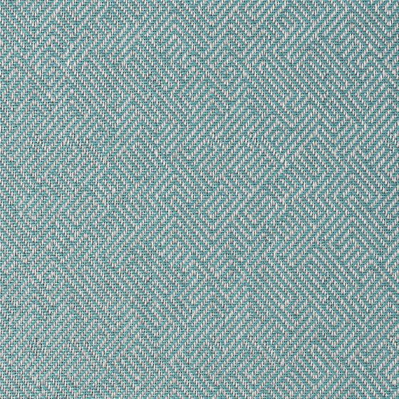 Photo of the fabric Charter Aqua swatch by James Dunlop. Use for Upholstery Heavy Duty, Accessory. Style of Childrens, Geometric, Pattern