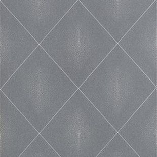 Photo of the fabric Shagreen Wallpaper Zinc swatch by Catherine Martin by Mokum. Use for Wall Covering. Style of Decorative, Geometric, Pattern, Print