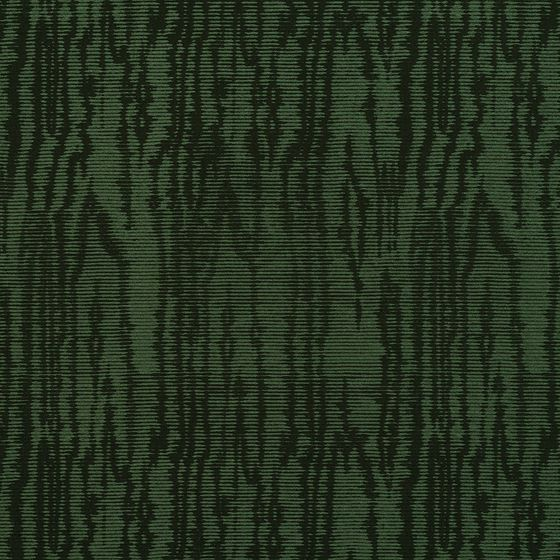 Photo of the fabric Trianon * Emerald swatch by Catherine Martin by Mokum. Use for Curtains, Upholstery Light Duty, Accessory, Top of Bed. Style of Pattern, Texture