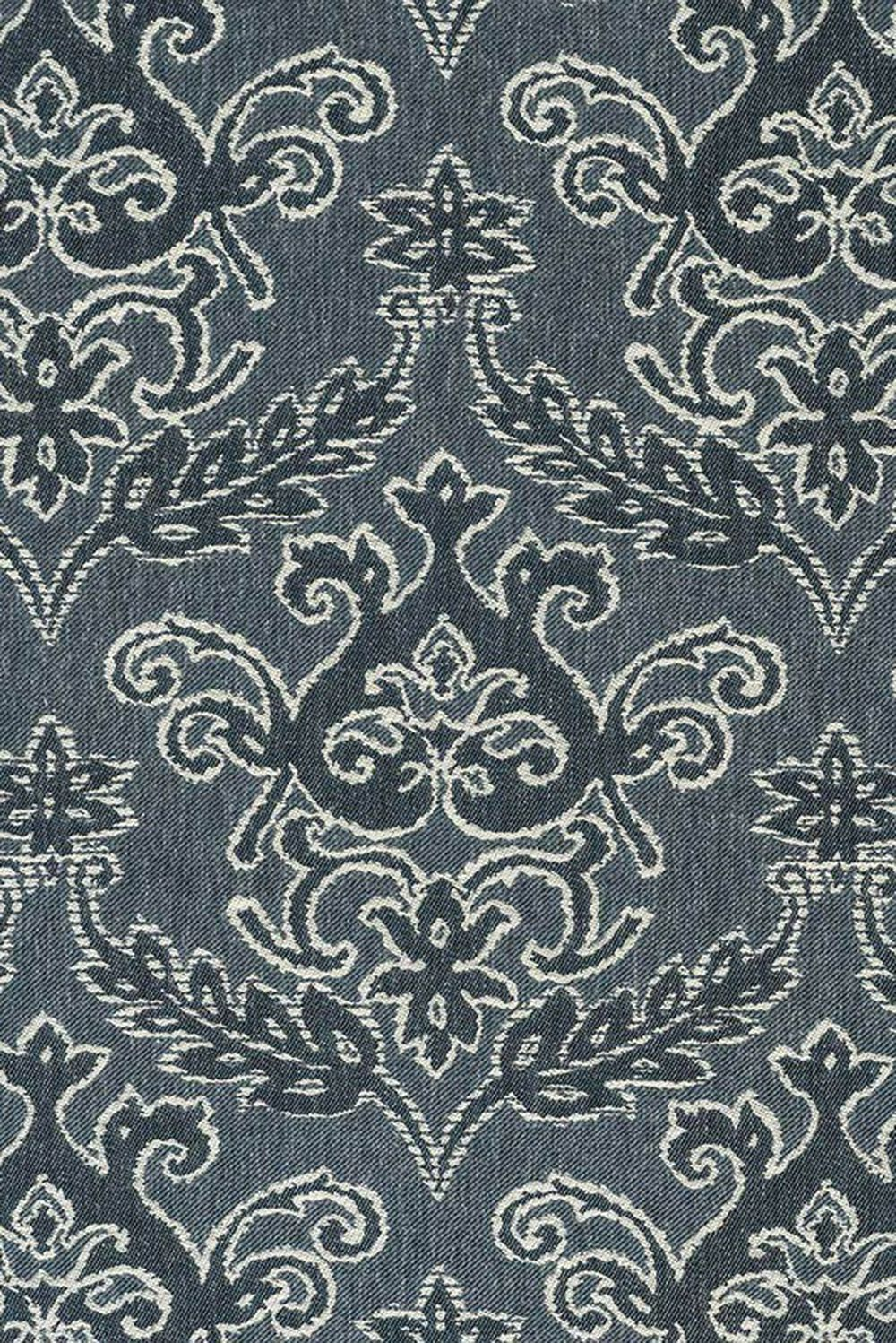 Photo of the fabric Notting Hill Fountain swatch by James Dunlop. Use for Curtains, Accessory. Style of Damask, Decorative, Pattern