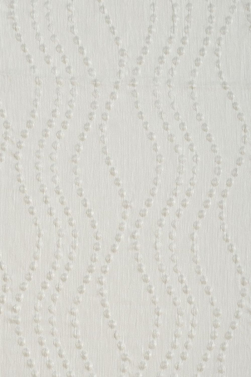 Photo of the fabric Perla* Blanc swatch by James Dunlop. Use for Sheer Curtains. Style of Decorative, Pattern, Sheer