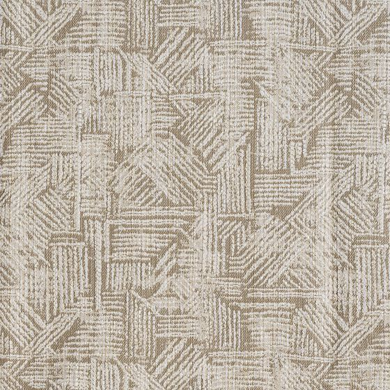 Photo of the fabric Etching Calico swatch by Mokum. Use for Upholstery Medium Duty, Accessory. Style of Abstract, Geometric, Pattern