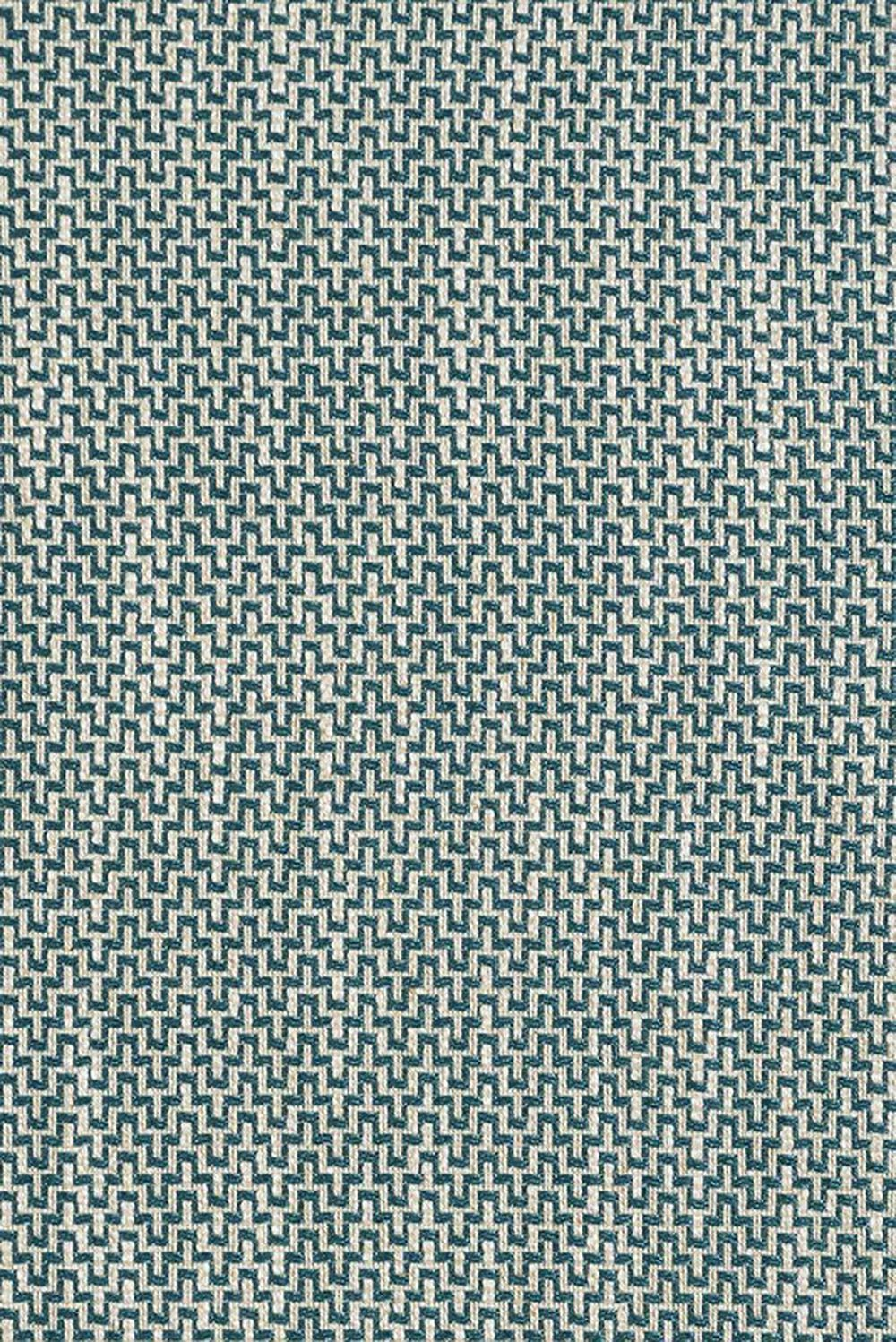 Photo of the fabric Effect Jade swatch by James Dunlop. Use for Upholstery Heavy Duty, Accessory. Style of Geometric, Pattern