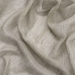 Photo of the fabric Kensho* Linen swatch by Mokum. Use for Drapery Sheer. Style of Plain, Sheer