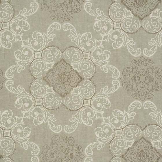 Photo of the fabric Sloane* Birch swatch by James Dunlop. Use for Curtains, Accessory. Style of Decorative, Pattern