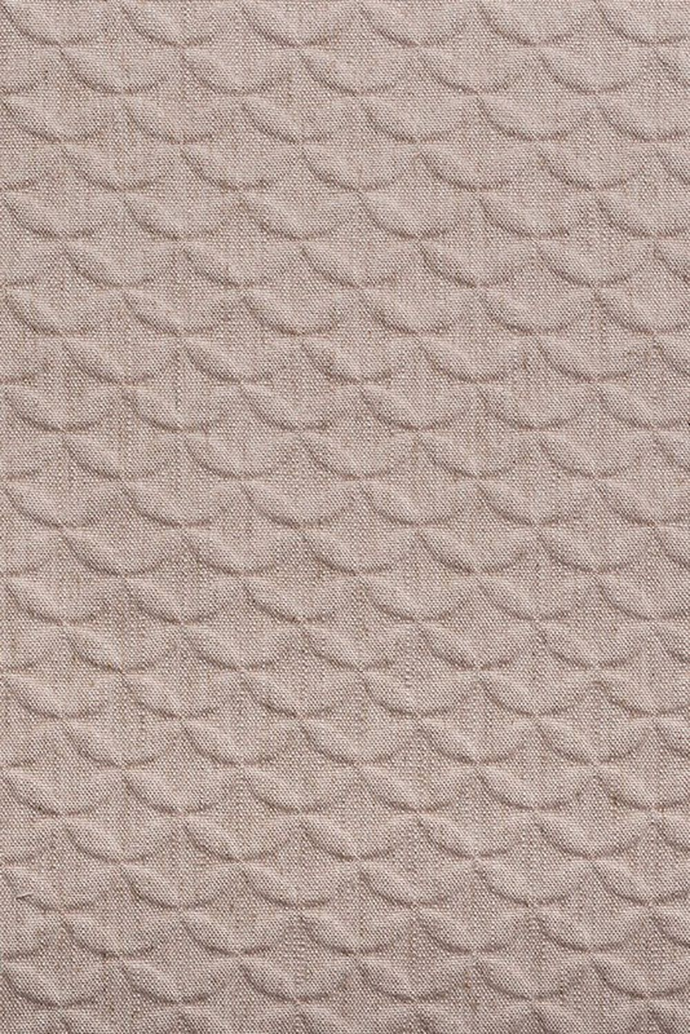Photo of the fabric Topiary Blush swatch by Mokum. Use for Upholstery Heavy Duty, Accessory. Style of Geometric, Pattern