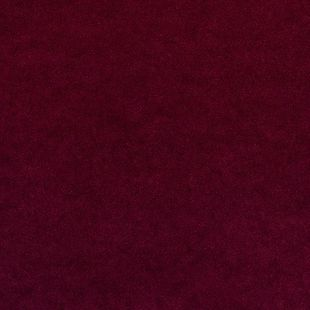 Photo of the fabric Palacio FR Garnet swatch by James Dunlop. Use for Drapery, Upholstery Heavy Duty, Accessory. Style of Plain, Velvet