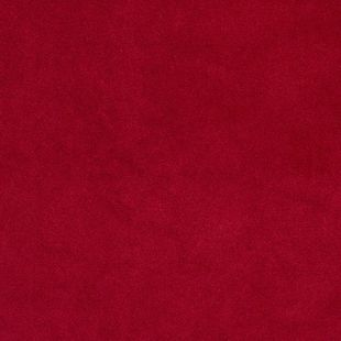 Photo of the fabric Palacio FR Ruby swatch by James Dunlop. Use for Drapery, Upholstery Heavy Duty, Accessory. Style of Plain, Velvet