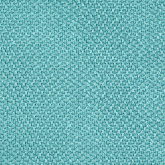 Photo of the fabric Miami Aqua swatch by Mokum. Use for Upholstery Heavy Duty, Accessory. Style of Plain, Texture