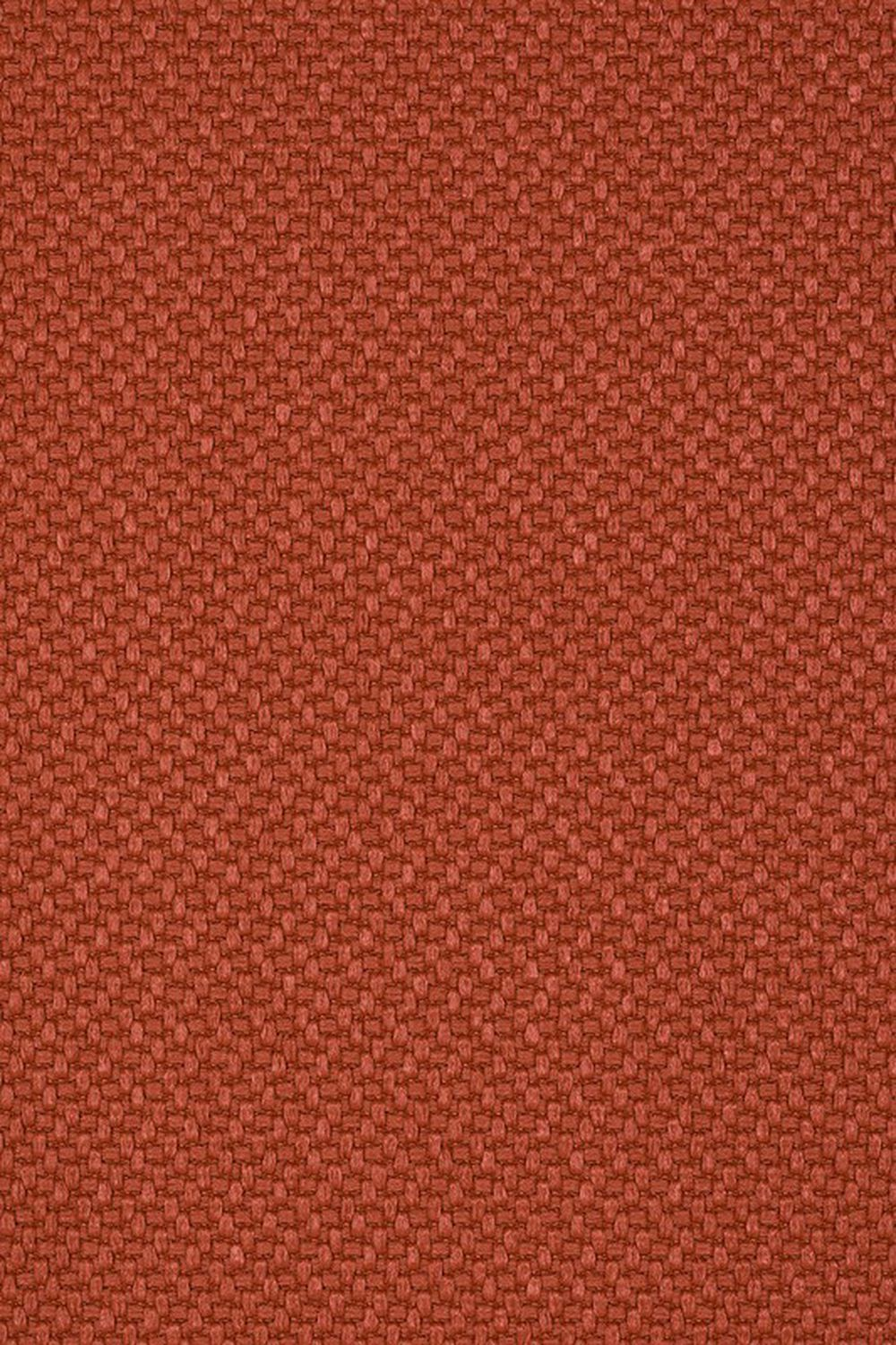 Photo of the fabric Miami Terracotta swatch by Mokum. Use for Upholstery Heavy Duty, Accessory. Style of Plain, Texture
