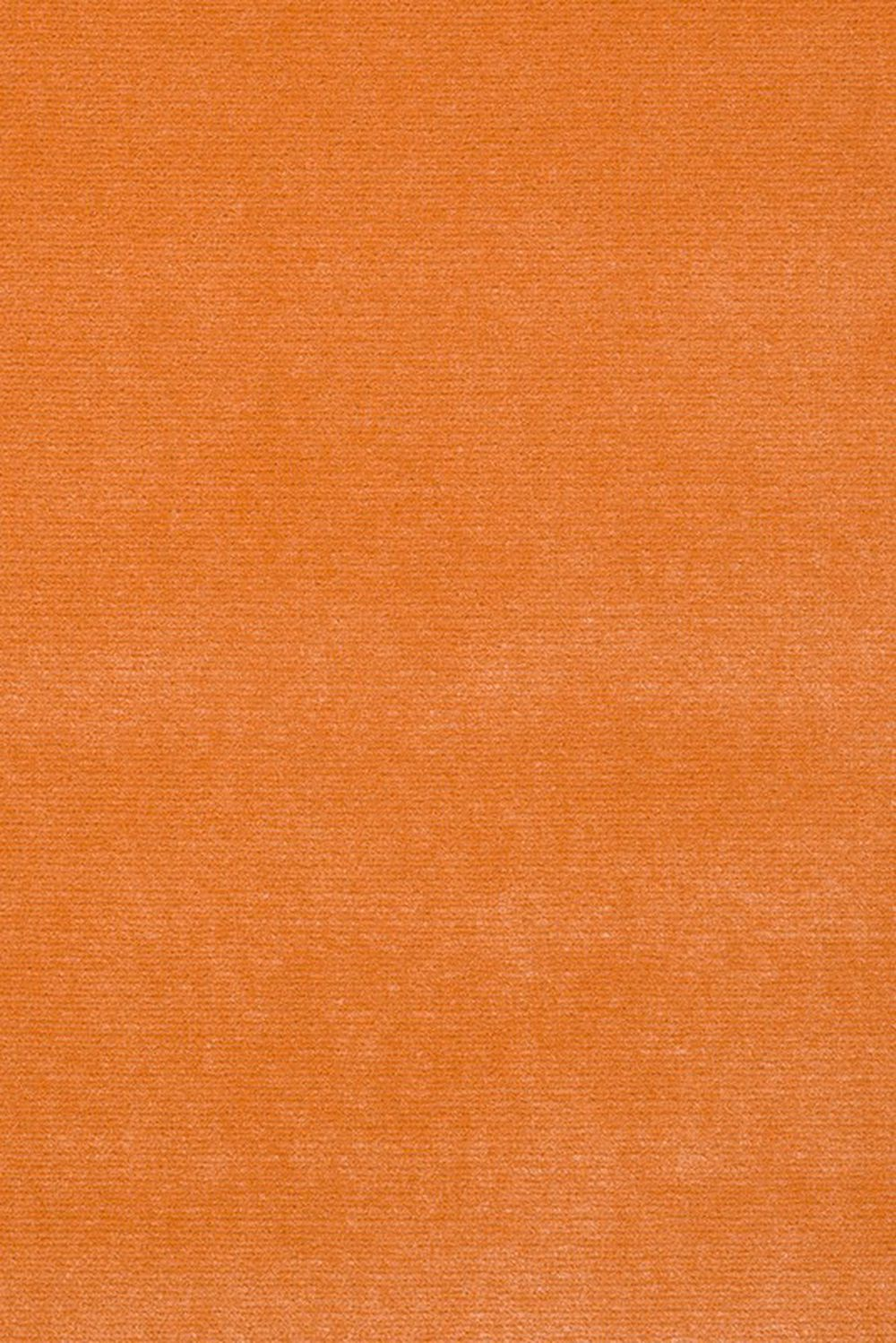 Photo of the fabric South Beach Peach swatch by Mokum. Use for Upholstery Heavy Duty, Accessory. Style of Plain, Velvet