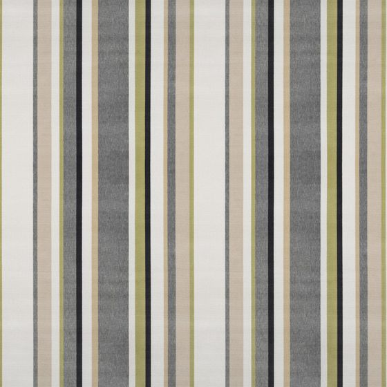 Photo of the fabric South Beach Stripe Gilver swatch by Mokum. Use for Upholstery Heavy Duty, Accessory. Style of Pattern, Stripe, Velvet