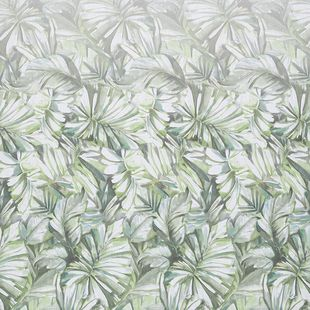 Photo of the fabric Pacific* Evergreen swatch by James Dunlop. Use for Drapery. Style of Floral And Botannical, Pattern, Print
