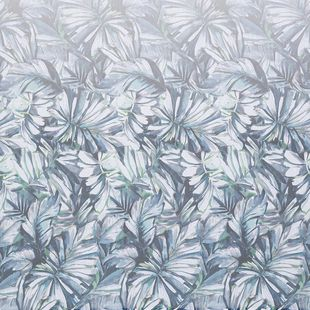 Photo of the fabric Pacific* Paua swatch by James Dunlop. Use for Drapery. Style of Floral And Botannical, Pattern, Print