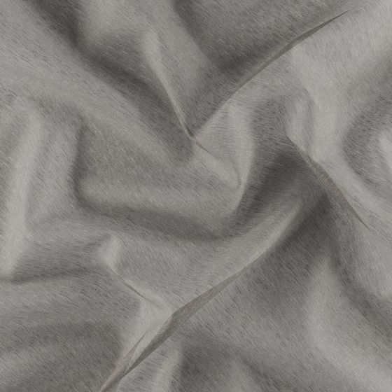 Photo of the fabric Allusion Cookie swatch by Zepel. Use for Sheer Curtains. Style of Plain, Sheer
