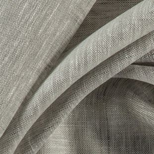 Photo of the fabric Allusion Silver swatch by Zepel. Use for Sheer Curtains. Style of Plain, Sheer