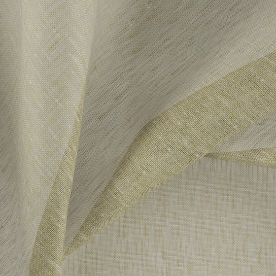 Photo of the fabric Allusion Pistachio swatch by Zepel. Use for Sheer Curtains. Style of Plain, Sheer