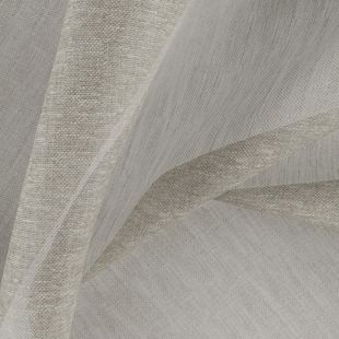 Photo of the fabric Allusion Sesame swatch by Zepel. Use for Sheer Curtains. Style of Plain, Sheer