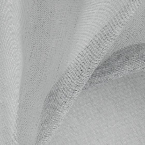 Photo of the fabric Allusion Feather swatch by Zepel. Use for Sheer Curtains. Style of Plain, Sheer