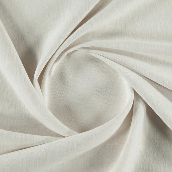 Photo of the fabric Lexicon Ecru swatch by FR-One. Use for Curtains, Accessory, Top of Bed. Style of Plain
